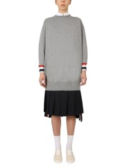 THOM BROWNE - PULLOVER OVERSIZED FIT