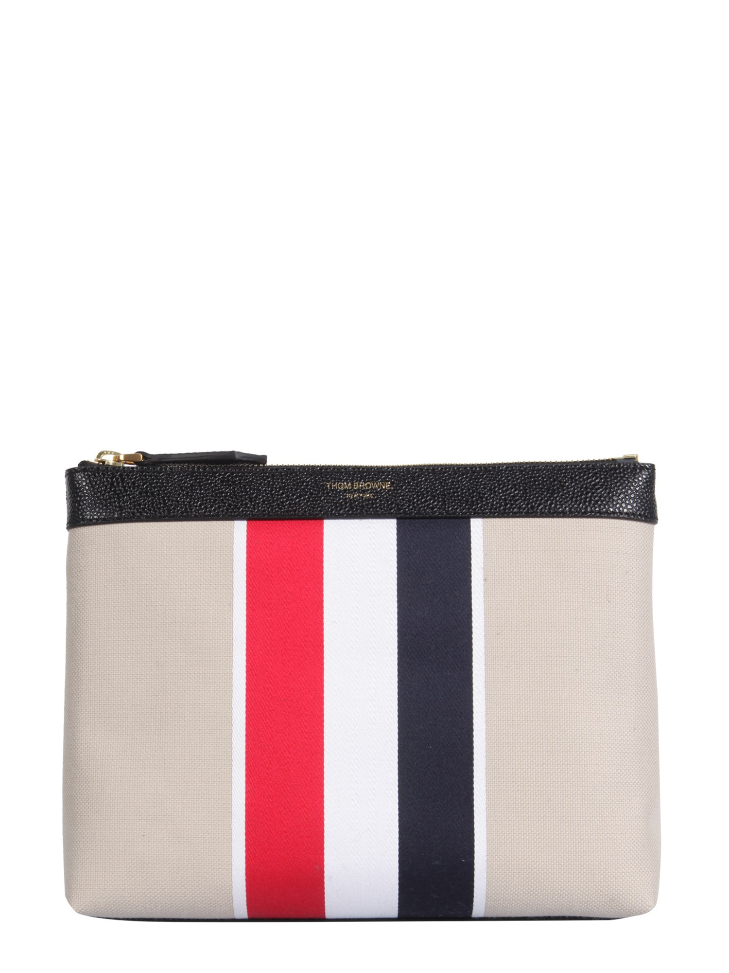 Thom Browne Canvases TOILETRY CANVAS CASE