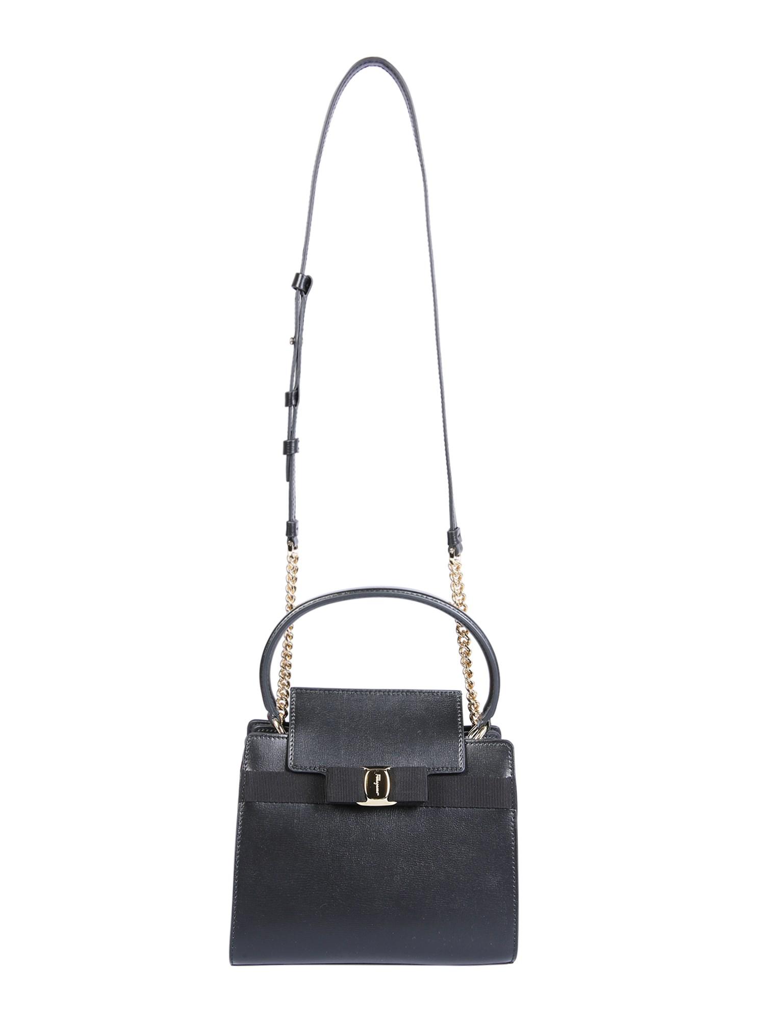 salvatore ferragamo handbag with vara bow