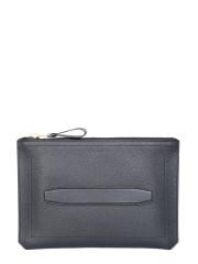 TOM FORD - POUCH IN PELLE MARTELLATA