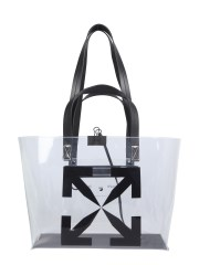 OFF-WHITE - BORSA TOTE IN PVC SMALL