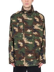 OFF-WHITE - GIACCA FIELD CAMOUFLAGE