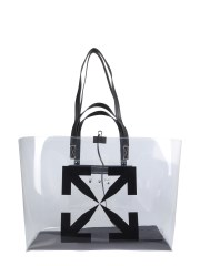 OFF-WHITE - BORSA TOTE IN PVC LARGE