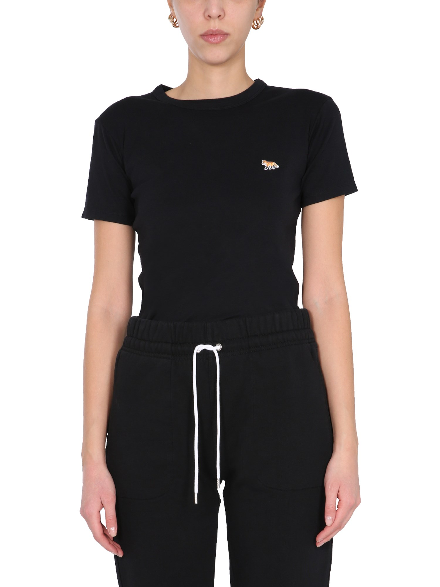Maison Kitsuné T-SHIRT CON PATCH FOX