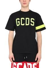GCDS - T-SHIRT GIROCOLLO