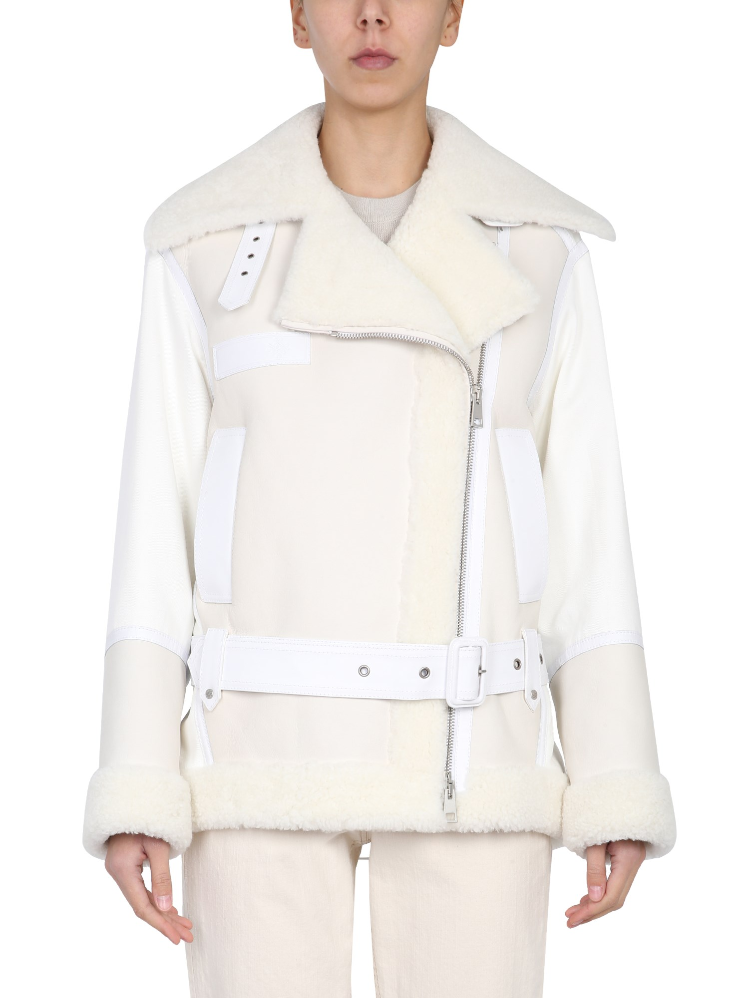 Mr & Mrs Italy ELIZABETH SULCER CAPSULE LEATHER JACKET