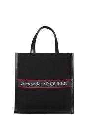 ALEXANDER McQUEEN - BORSA TOTE SELVEDGE