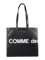 COMME DES GARCONS WALLET - BORSA TOTE HUGE LOGO