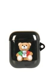 MOSCHINO - PORTA AIRPODS ITALIAN TEDDY BEAR