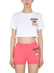 MOSCHINO - T-SHIRT TEDDY INSIDE OUT