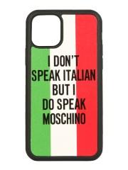 MOSCHINO - COVER IPHONE 11 PRO ITALIAN SLOGAN