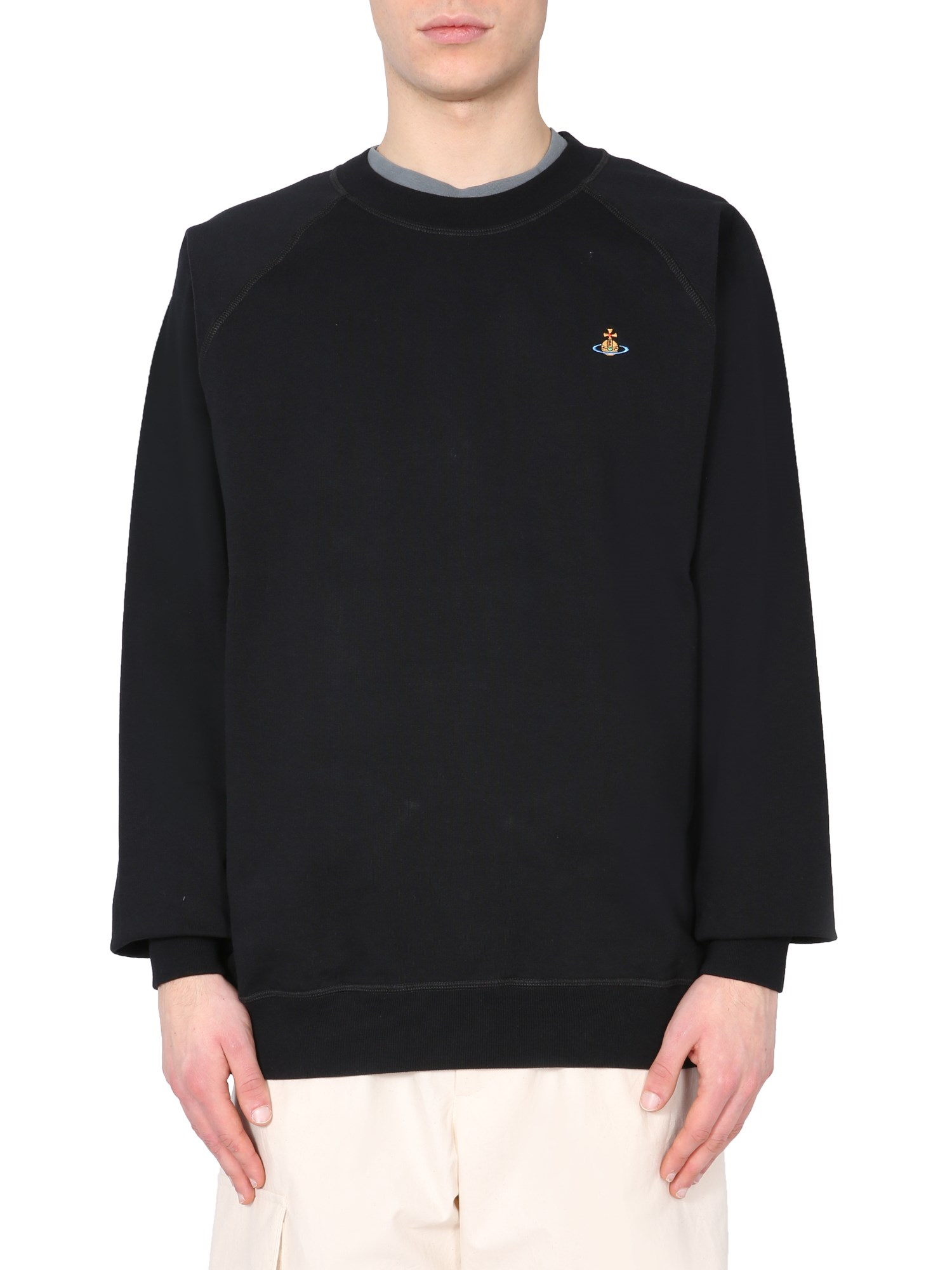 Vivienne Westwood EMBROIDERED SWEATSHIRT