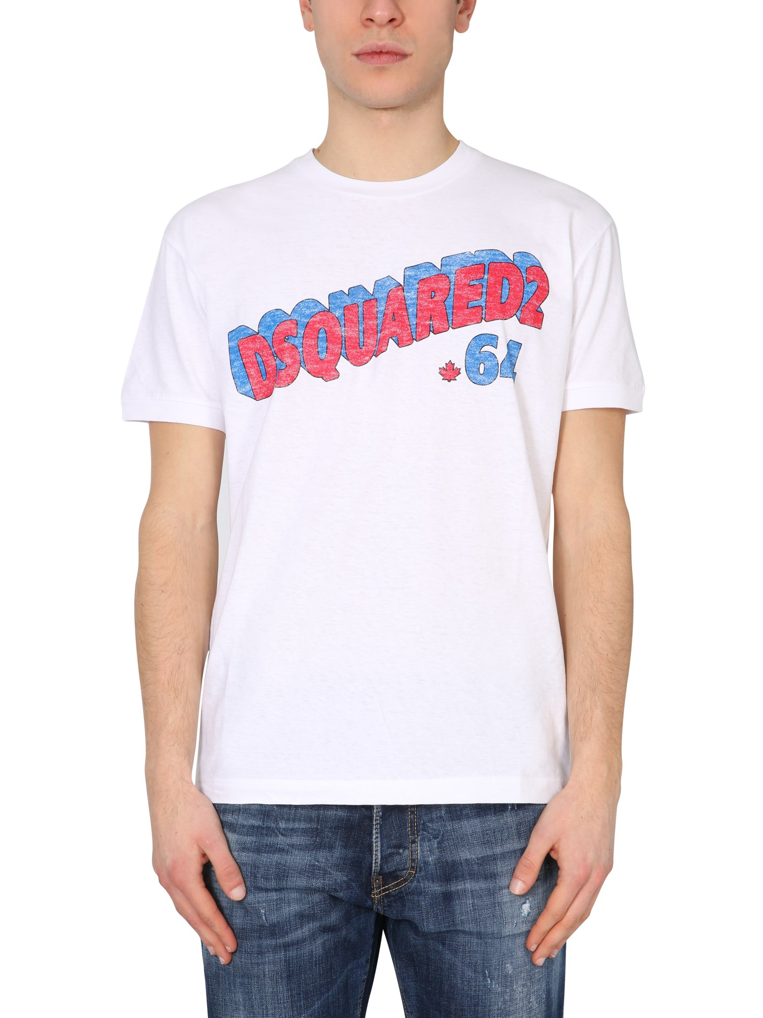 "Dsquared2 T-SHIRT ""RETRO 64"""