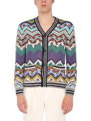 MISSONI - CARDIGAN SCOLLO A V