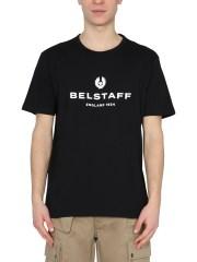 BELSTAFF - T-SHIRT CON LOGO