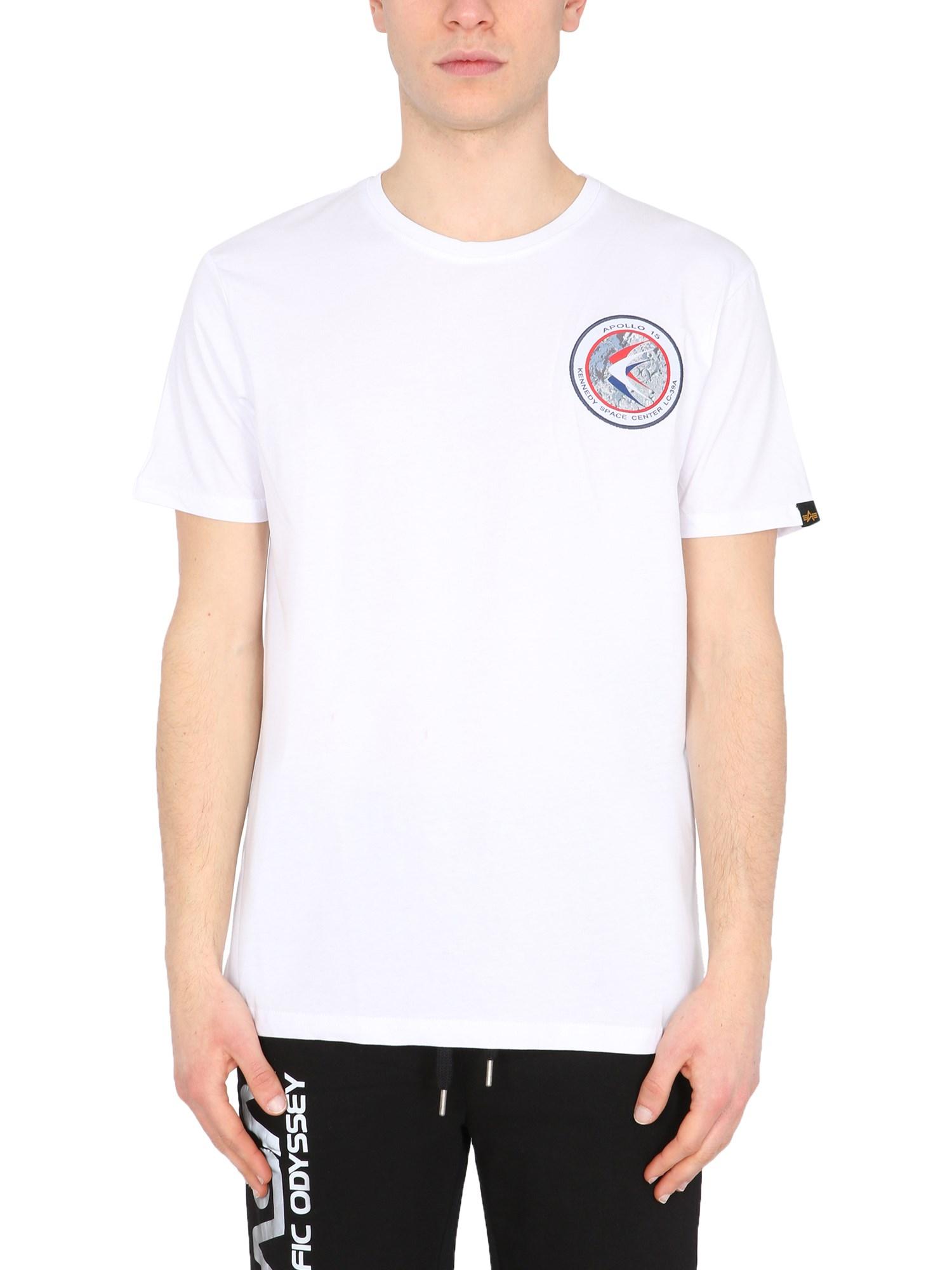 "Apollo 15"" t-shirt - alpha industries - Modalova"