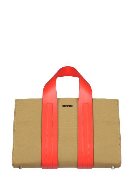 Sunnei X Eleonora Bonucci - Parallelepiped Canvas Bag