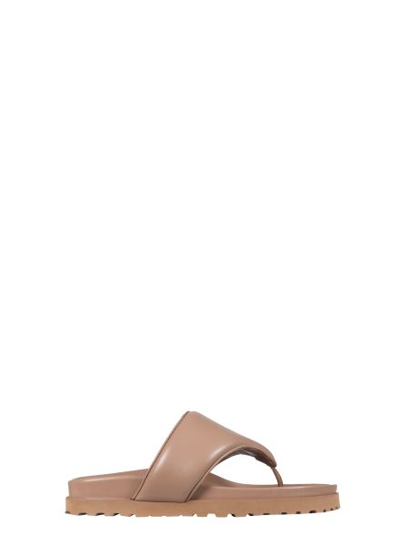 Gia X Pernille - Leather Thong Sandals