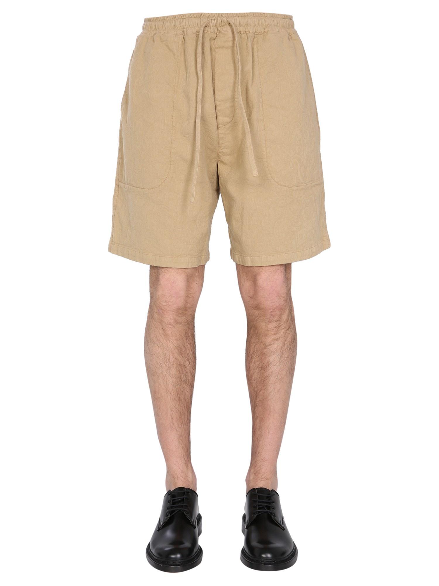 Ymc paisley jacquard shorts - ymc - Modalova