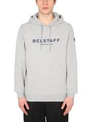 BELSTAFF - FELPA CON CAPPUCCIO
