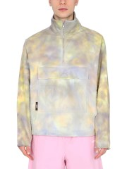 MSGM - GIACCA ANORAK CON STAMPA