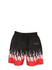VISION OF SUPER - COSTUME DA BAGNO CON STAMPA FLAME