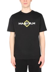 MA.STRUM - T-SHIRT GIROCOLLO