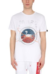 """ALPHA INDUSTRIES - T-SHIRT """"MISSION TO MARS"""""""