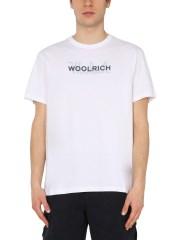 WOOLRICH - T-SHIRT GIROCOLLO
