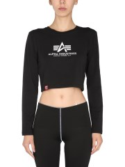 ALPHA INDUSTRIES - T-SHIRT CROPPED FIT