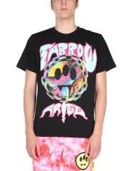 BARROW - T-SHIRT CON STAMPA SERIGRAFICA