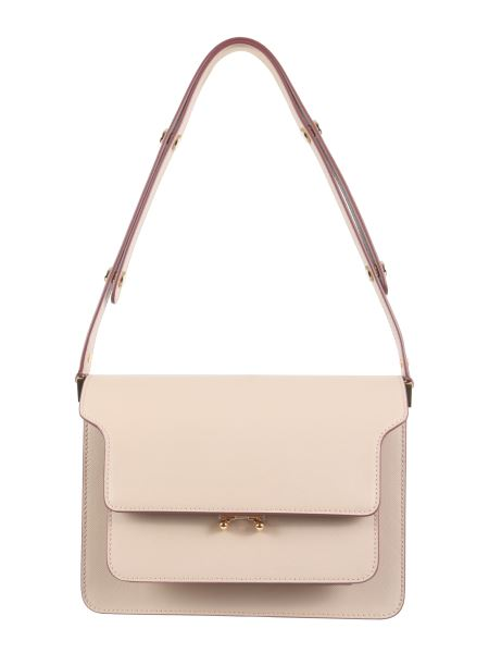 Marni - Medium Trunk Saffiano Leather Bag