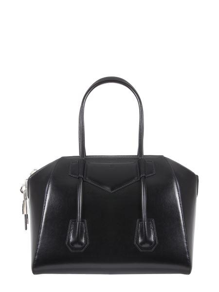 Givenchy - Medium Lock Antigona Box Leather Bag