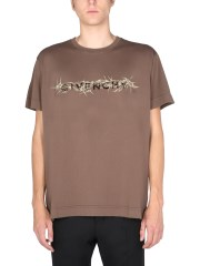 """GIVENCHY - T-SHIRT """"BARBED WIRE VINTAGE"""""""