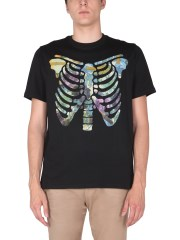 PS BY PAUL SMITH - T-SHIRT RIBS FLORAL