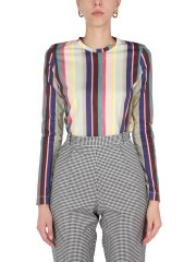 PS BY PAUL SMITH - T-SHIRT CON STAMPA MULTICOLOR