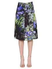 PS BY PAUL SMITH - GONNA CON STAMPA AGAPANTHUS