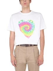 PAUL SMITH - T-SHIRT STAMPA HEART