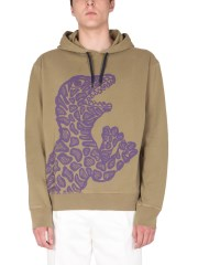 PS BY PAUL SMITH - FELPA CON STAMPA DINO