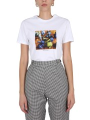 """PS BY PAUL SMITH - T-SHIRT CON STAMPA """"RABBIT"""""""