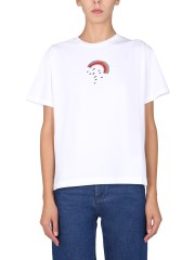 """PS BY PAUL SMITH - T-SHIRT """"RAINBOW DOODLE"""""""