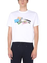 PS BY PAUL SMITH - T-SHIRT CREDIT CARDS