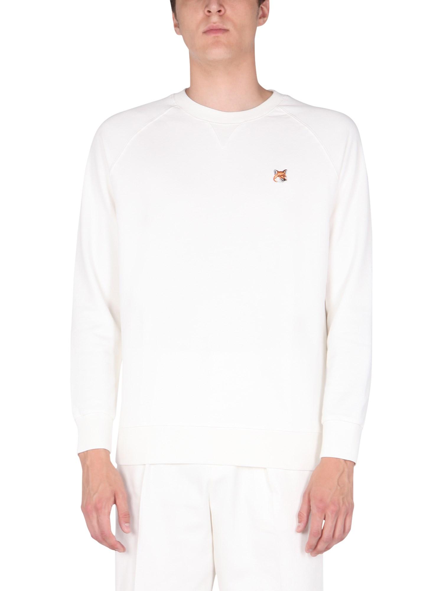 Crew neck sweatshirt - maison kitsuné - Modalova