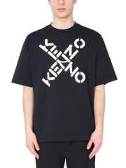 KENZO - T-SHIRT GIROCOLLO