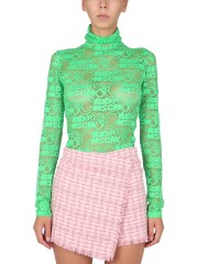 MSGM - MAGLIA IN TULLE POINT