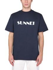 SUNNEI X ELEONORA BONUCCI - T-SHIRT CON LOGO