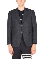 THOM BROWNE - CAPPOTTO SPORTIVO IN TWEED