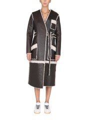 MM6 MAISON MARGIELA - CAPPOTTO IN SHEARLING