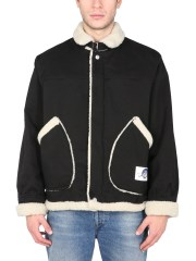 MSGM - GIACCA IN SHEARLING