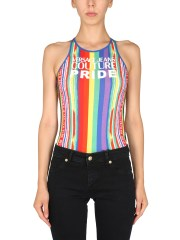VERSACE JEANS COUTURE - TOP CON LOGO